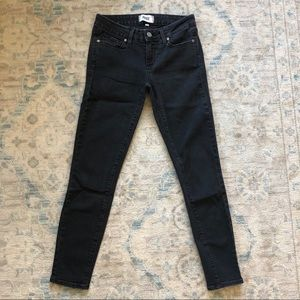 PAIGE Verdugo Ankle Skinny Jeans in Black